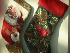 christmas Devotion stocking
