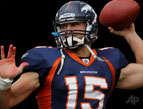 Tim Tebow, AP Photo