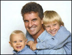 Tim Michaels with sons