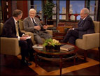 Lee Webb, David Harrell and Pat Robertson