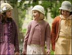 Madison Davenport, Abigail Breslin, and Brieanne Jansen in Kit Kittredge: An American Girl