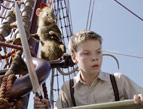 Eustace and Reepicheep in The Voyage of the Dawn Treader