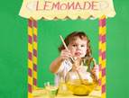 daily Devotion lemonade stand child