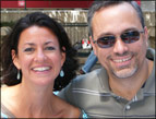 Lisa Morrone and her husband