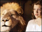 Aslan and Lucy in The Voyage of the Dawn Treader