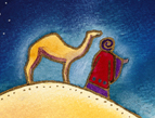magi daily Devotion camel graphic