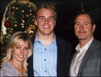 Matt Barkley with his parents