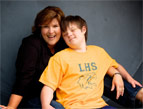 daily Devotion woman with son who has down syndrome