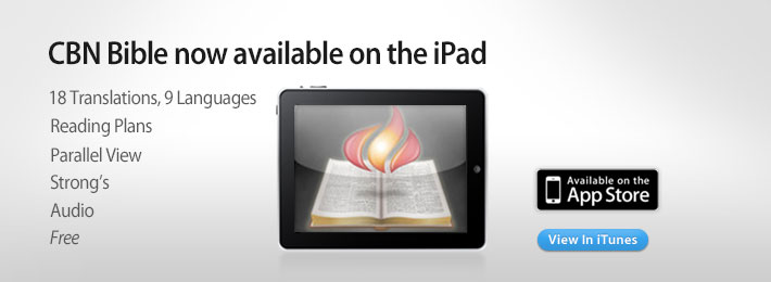 CBN Bible on iPad