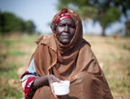 """With these seeds you restore hope for our village,"" said Fati, mother of nine."