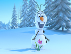 Frozen movie, Olaf, the snowman
