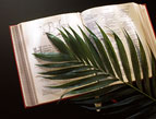 Easter Devotion palm branches