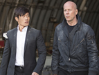 Red 2: Christian movie review, Bruce Willis and Byung-hun Lee