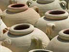 daily Devotion crocks, urns, clay pots
