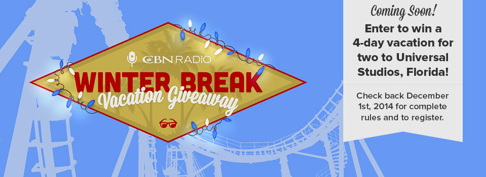 Winter Break Vacation Giveaway