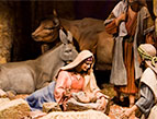 daily Devotion nativity scene