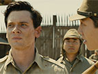 Jack O'Connell and Miyavi in Unbroken