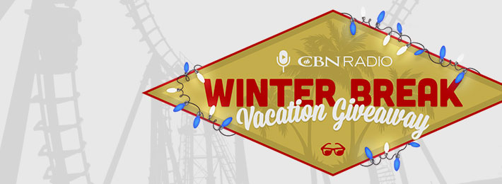 CBN Radio Winter Break Vacation Giveaway