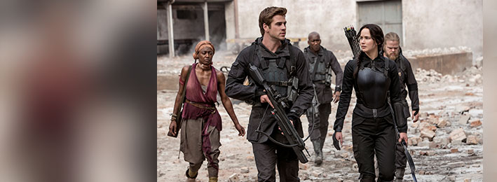 The Hunger Games: Mockingjay - Part 1: Christian Movie Review, cr: Murray Close