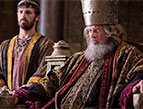 Kelsey Grammer and Eoin Macken in Killing Jesus