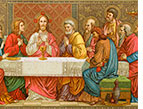 the last supper Jesus and his disciples