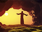 sunrise christ cave prayer