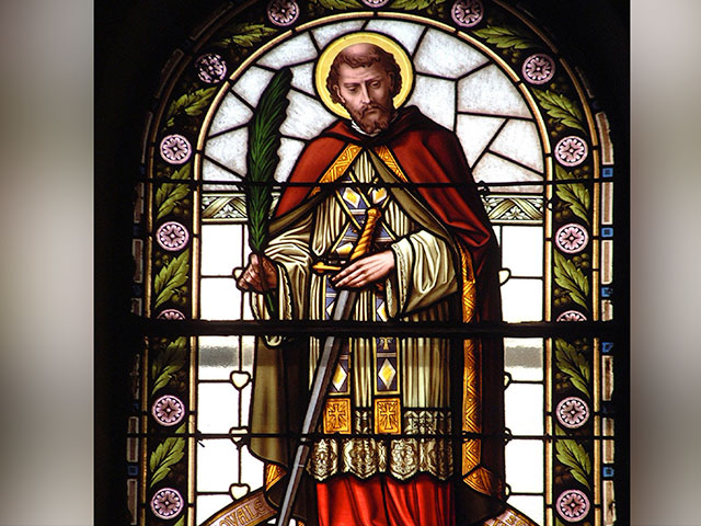 Image result for saint valentine's day priest red