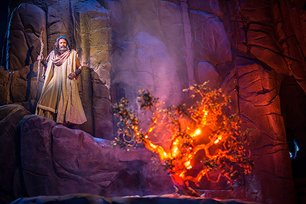 Sight and Sound - Moses - Burning Bush
