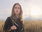 Britt Robertson in Tomorrowland movie