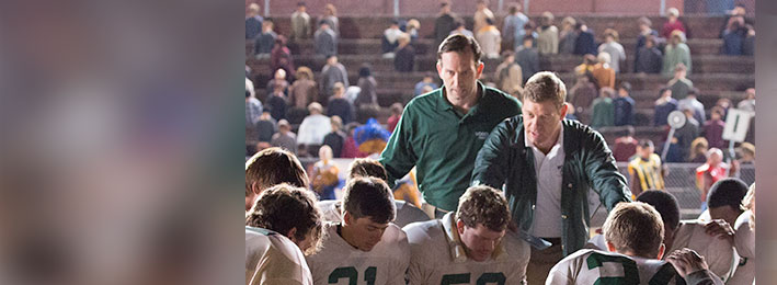 Covert Affairs' Nic Bishop and Resurrection's Kevin Sizemore: Coaching Woodlawn