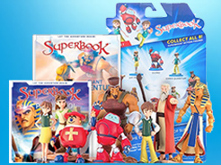 CBN.com - Get the Latest Superbook DVD - Anime Animation