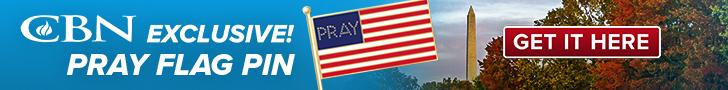 Pray Flag Pin