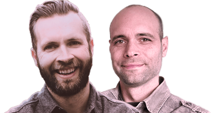 faithwire hosts Dan Andros and Dale Partridge