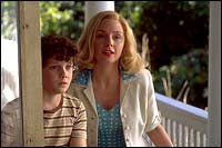 Anton Yelchin and Hope Davis