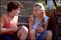Anton Yelchin and Mika Boorem
