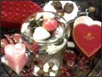 valentines Devotion candy and hearts