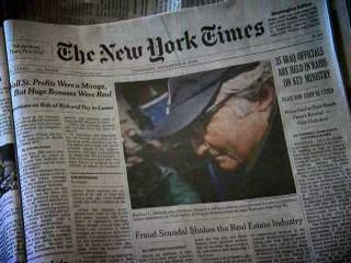 december 29 2008 cbnnews americas newspapers facing tough times- recession