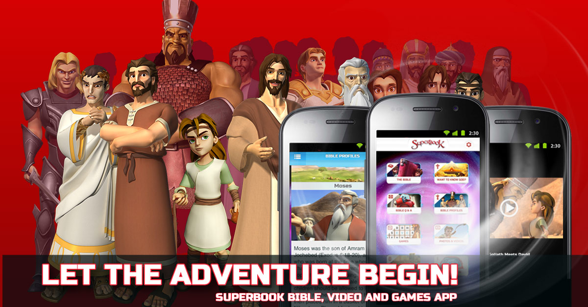 Free Kids Bible App with Videos & Games from Superbook