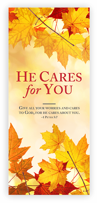 He Cares For You Booklet