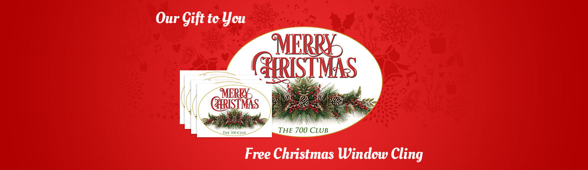 FREE Merry Christmas Window Cl...