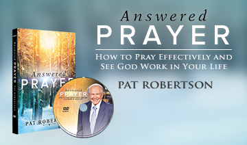 Answered Prayer on DVD by Pat Robertson