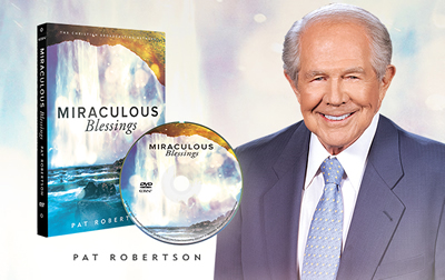 Miraculous Blessings on DVD by Pat Robertson