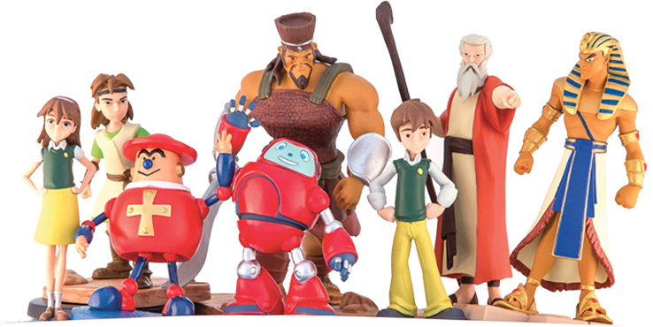 SuperBook Characters