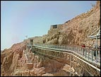 Bridge to the Entrance Door at the Top of Masada