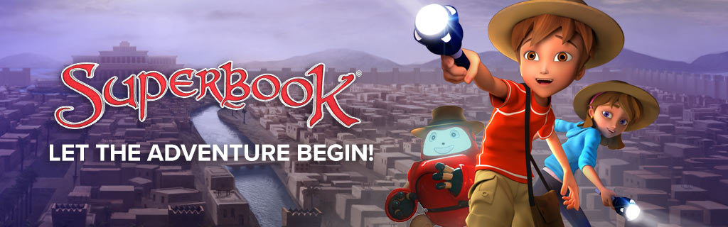 Superbook: Let the adventure begin!